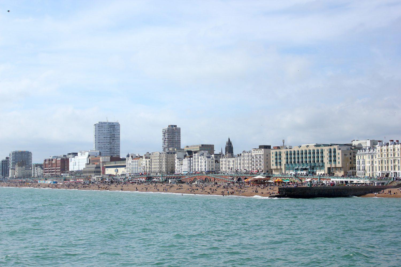 Brighton weekend beach