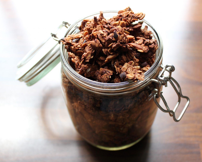 recipe granola blant-based