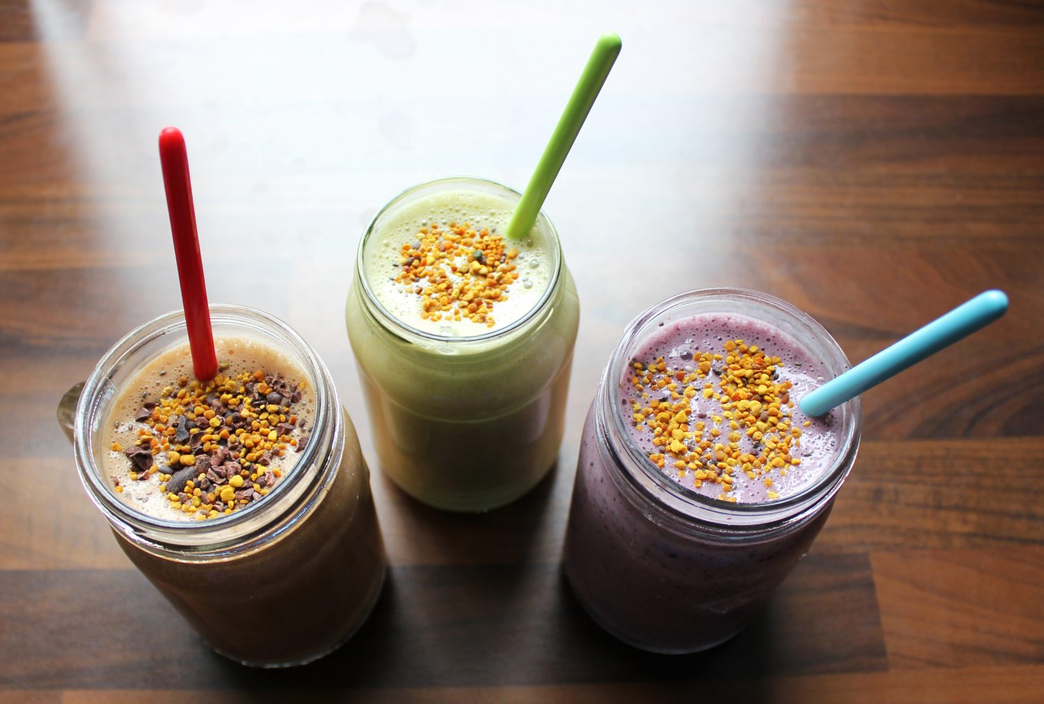 Three Smoothies Finish 1